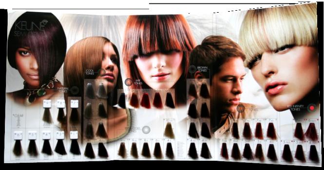 Keune краска для волос палитра цветов